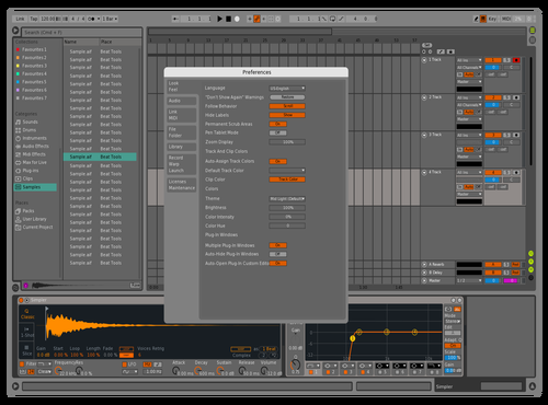 GREY LIVE Theme for Ableton 10 by Tejan sahu
