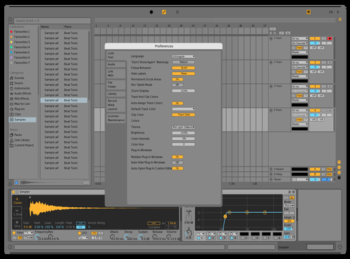 Minimal (don't use this) Theme for Ableton 10 by lumitrap