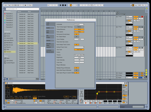 Alexfull Theme for Ableton 10 by Alex