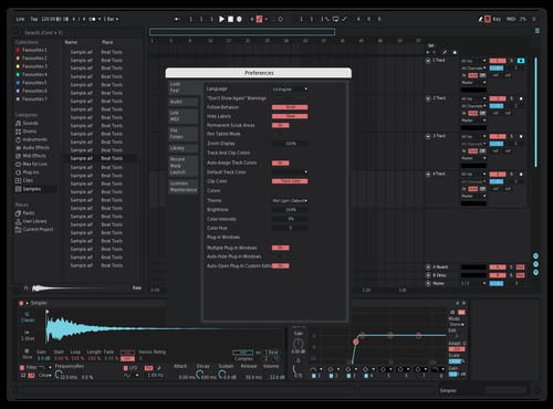 Brr Theme for Ableton 10 by Reaver
