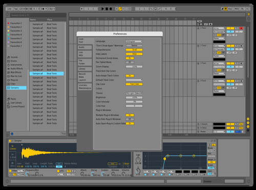 10.1 Theme for Ableton 10 by Acxel