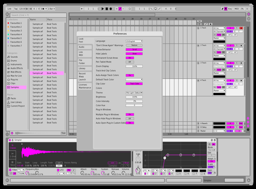 Maagic Theme for Ableton 10 by Maagic
