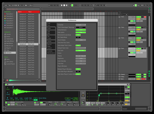 GBR Theme for Ableton 10 by mmd145145