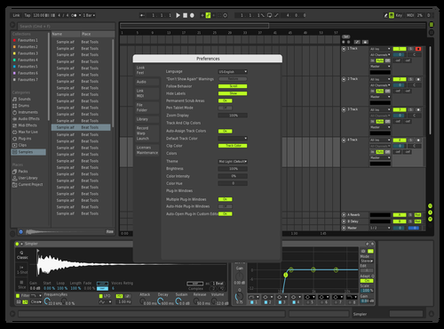 RUAN 2 Theme for Ableton 10 by rillidan