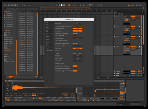 Orangy Theme for Ableton 10 by RedBull