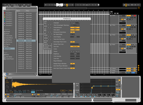 FloatingTheme Theme for Ableton 10 by Alejandro