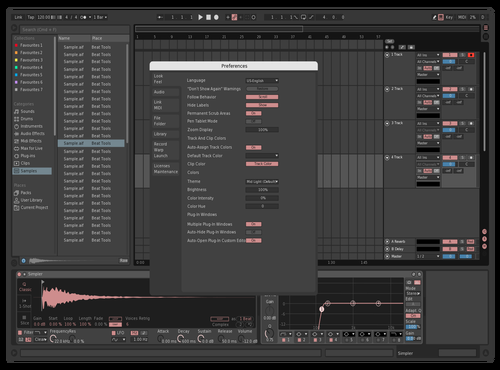 Dark/Pink Theme for Ableton 10 by 196