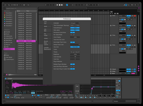 Neon2 Theme for Ableton 10 by Aleksandr Zhukov