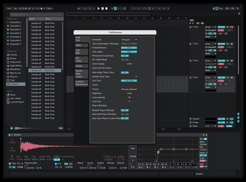 My Skin Theme for Ableton 10 by Leam