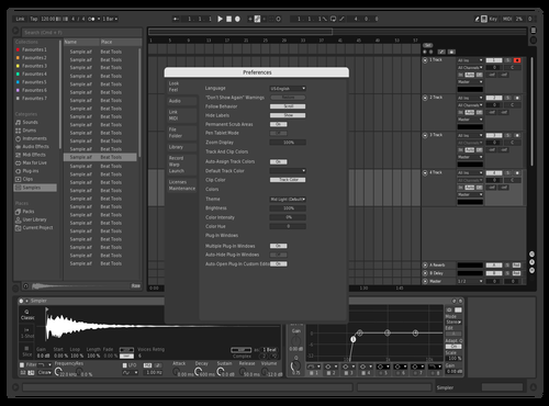 Dior X Saint Theme for Ableton 10 by Gabriel