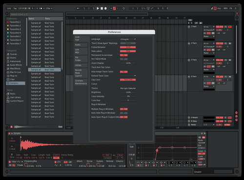 Darkr Theme for Ableton 10 by ottogfx