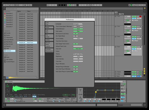 A Theme for Ableton 10 by Stephan Cacic