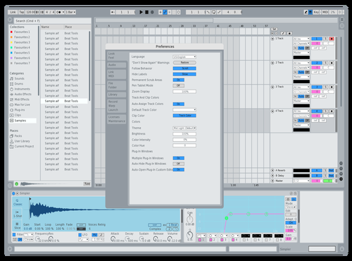 Greyscale Light 4 Theme for Ableton 10 by AHmedia