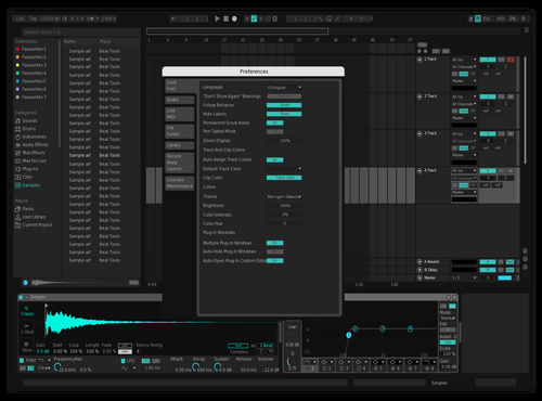 Spot Theme for Ableton 10 by Godfrey Murdoch