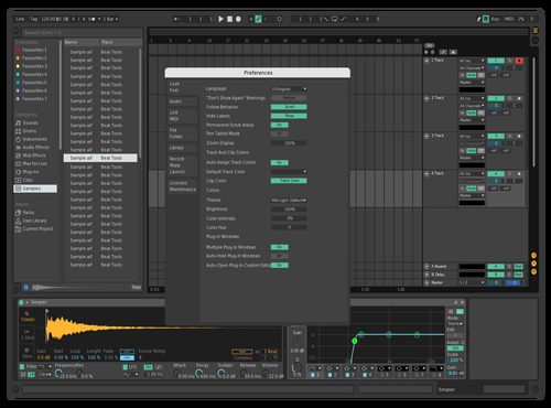 02 Theme for Ableton 10 by pompon