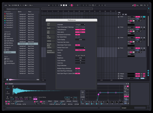 Sd Theme for Ableton 10 by Reaver