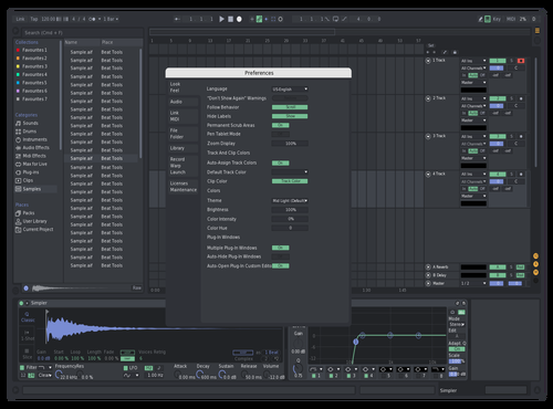 Discord tweaked Theme for Ableton 10 by Per