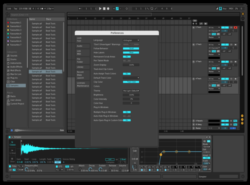 01 Theme for Ableton 10 by savvas31