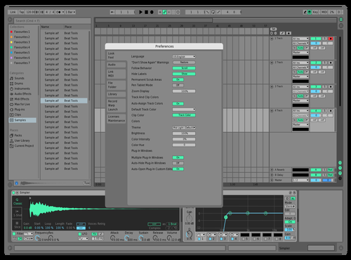 Bluu Theme for Ableton 10 by Jake