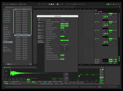 Darker Green Theme for Ableton 10 by Fucker