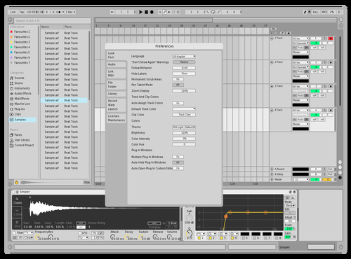 Sheet Theme for Ableton 10 by Aleksander