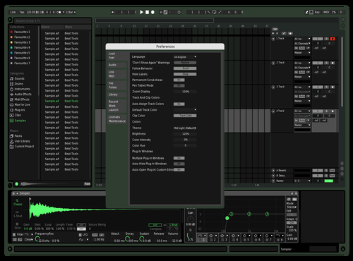 BetterSpotify Theme for Ableton 10 by Ethan