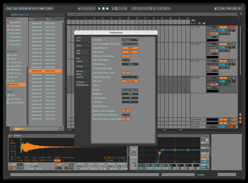 BRGHTTYPO Theme for Ableton 10 by david