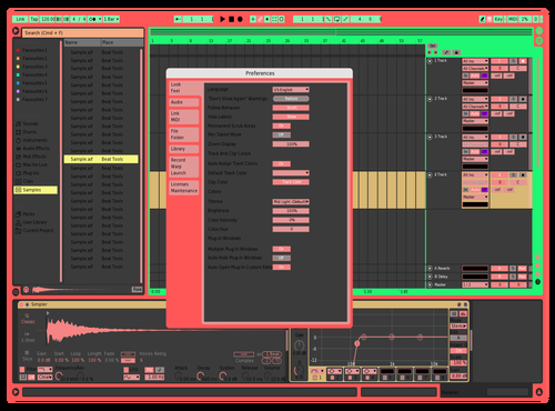 Nedeaaaaaaa brho Theme for Ableton 10 by frijol