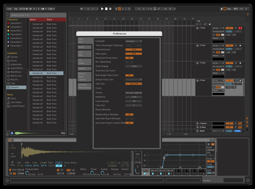 Likemyrns Theme for Ableton 10 by joopie