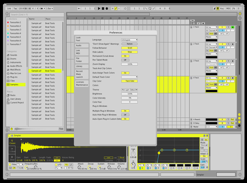 Jack U Theme for Ableton 10 by Bennie