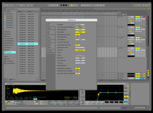 Acxel Theme for Ableton 10 by Acxel