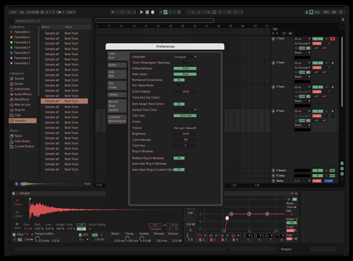 Pille 1 Theme for Ableton 10 by labalaia