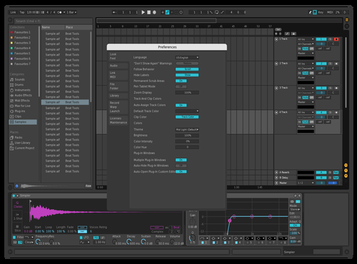 PINK Theme for Ableton 10 by Pablo
