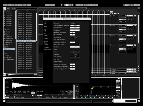 Black&White Theme for Ableton 10 by oddyo