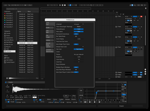 MInimalism Theme for Ableton 10 by Cazzo