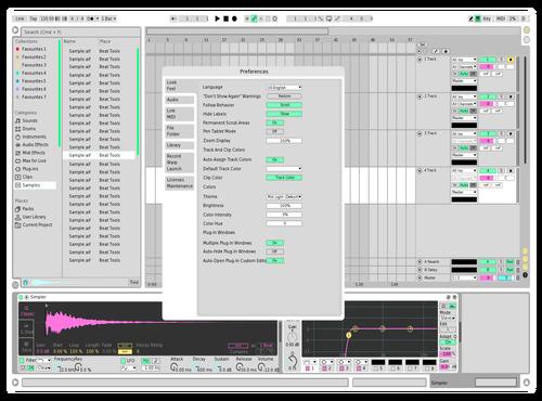 Vice 1.0 Theme for Ableton 10