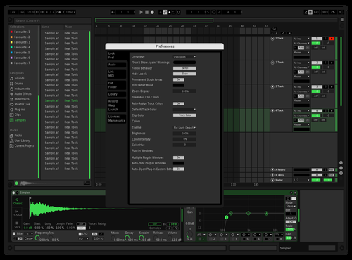 AK1 Theme for Ableton 10 by Felipe Dias