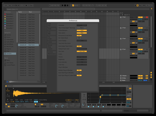 MY DARK Theme for Ableton 10 by yoo