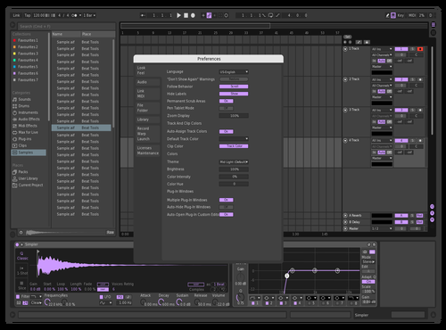 Lavendar Theme for Ableton 10 by Mateo Probst