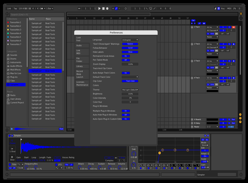 BLUE Theme for Ableton 10 by Justen