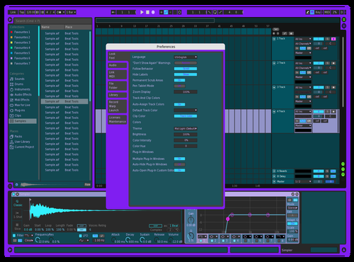 Dark Ignis Theme for Ableton 10 by Annae Ignis