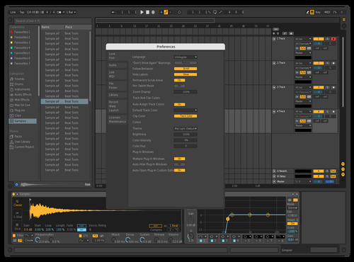Rev Theme for Ableton 10 by manette