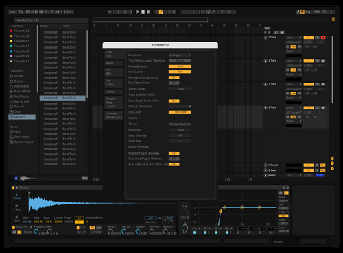 Dark 5 Theme for Ableton 10 by anthroid