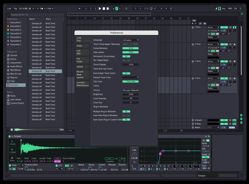 Minty swag Theme for Ableton 10 by Benjamin Schatz