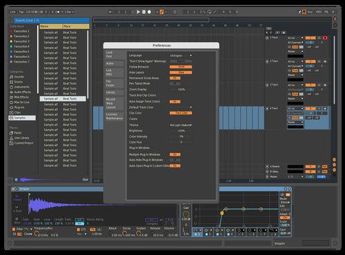 Cakewalk Theme for Ableton 10 by ION Instruments