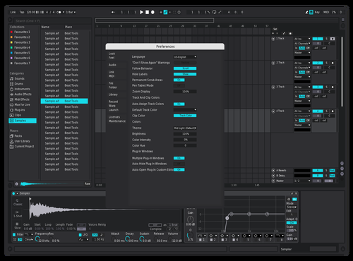 NNN Theme for Ableton 10 by Reaver
