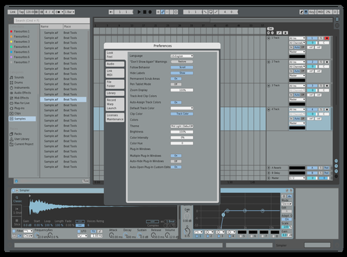 Blue2 Theme for Ableton 10 by carly meador