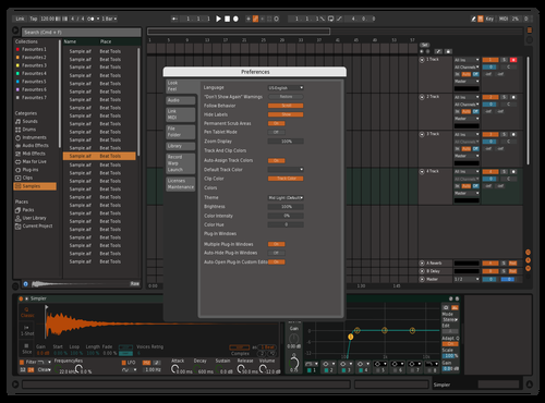 GreenGreyOrange Theme for Ableton 10 by Filip Tomasetig