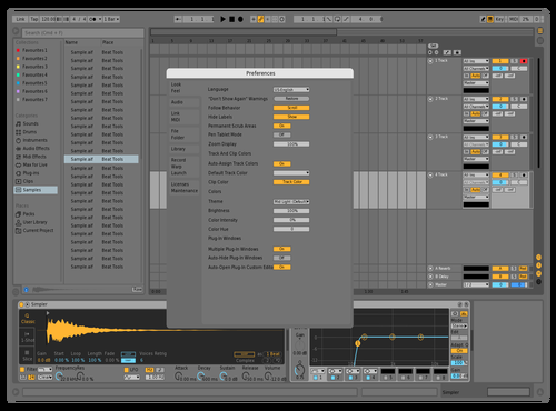 FinalFinalFinal7 Theme for Ableton 10 by Ben