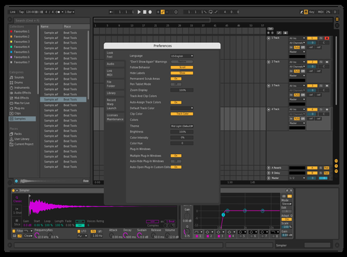 Pluto Theme for Ableton 10 by Paulo